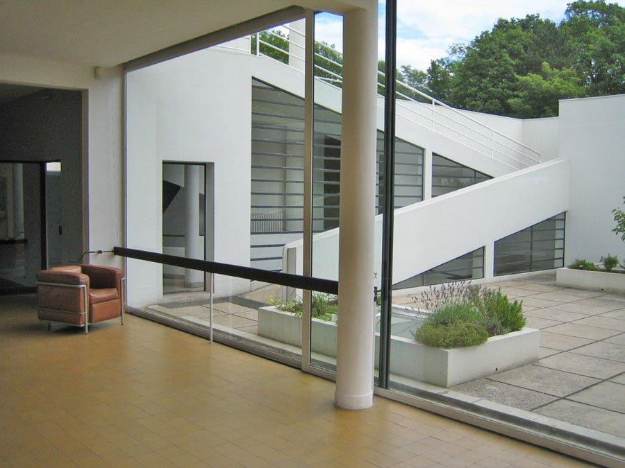 Villa Savoy, Interior Courtyard garden