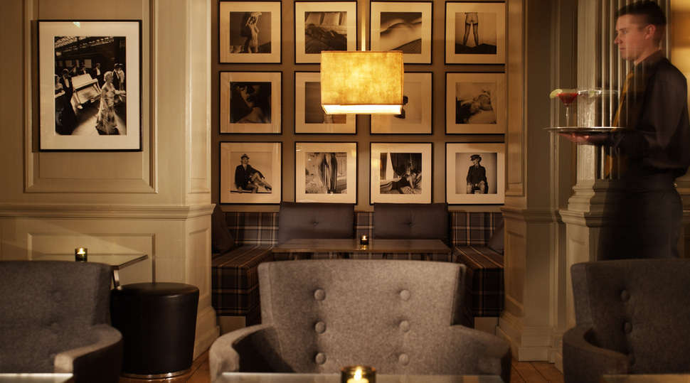 Browns Hotel, London, a great narrative space by Barbara Barry.