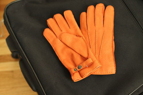 Visit Madova Gloves on the famed Ponte Vecchio, crafting custom fit leather gloves since 1919.