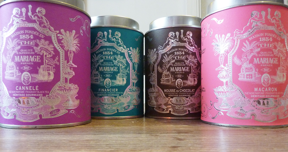 Exquisite Packaging and Diverse Teas from Mariage Freres