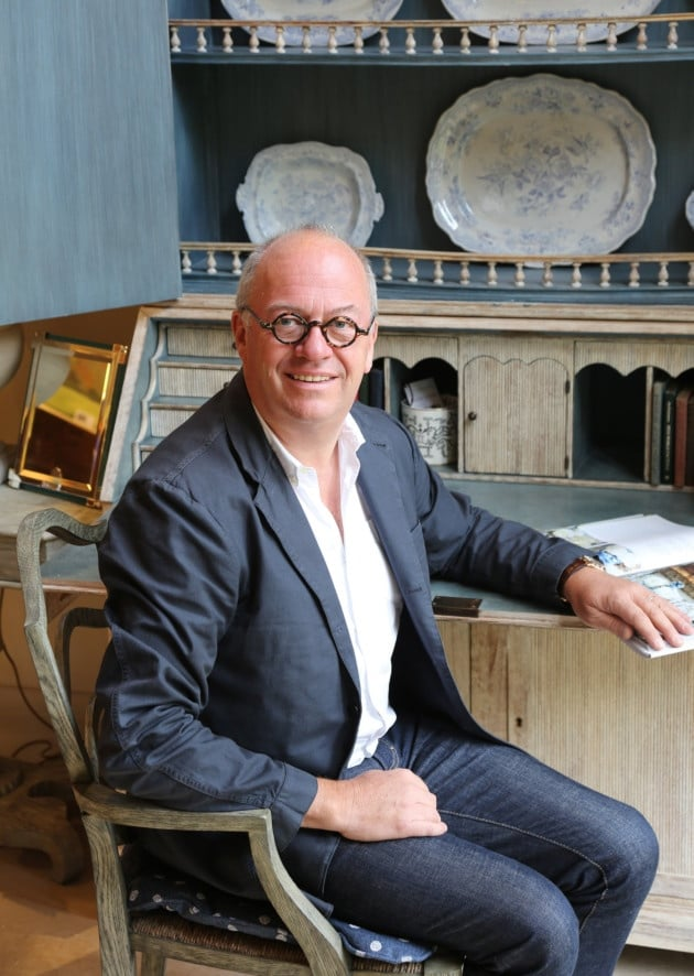 William Yeoward, Designer of Interiors, Furniture, Crystal, Fabrics, and Tableware