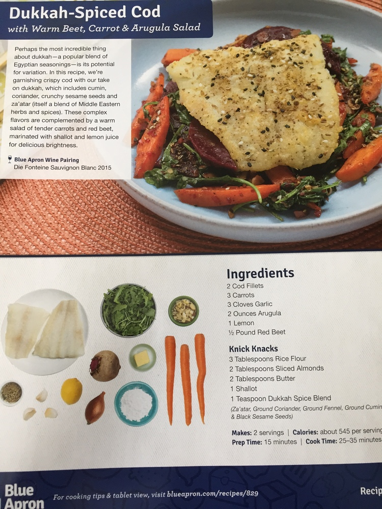 Blue apron the joy of cooking arrives at your door the art of the blue apron recipe cards are incredibly easy to follow and the combination of visuals forumfinder Gallery