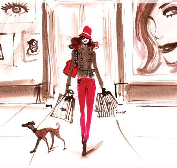 Hayden Williams for Henri Bendel