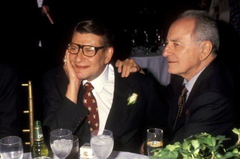 Artistic genius Yves St. Laurent, and his long term partner, Pierre Berge