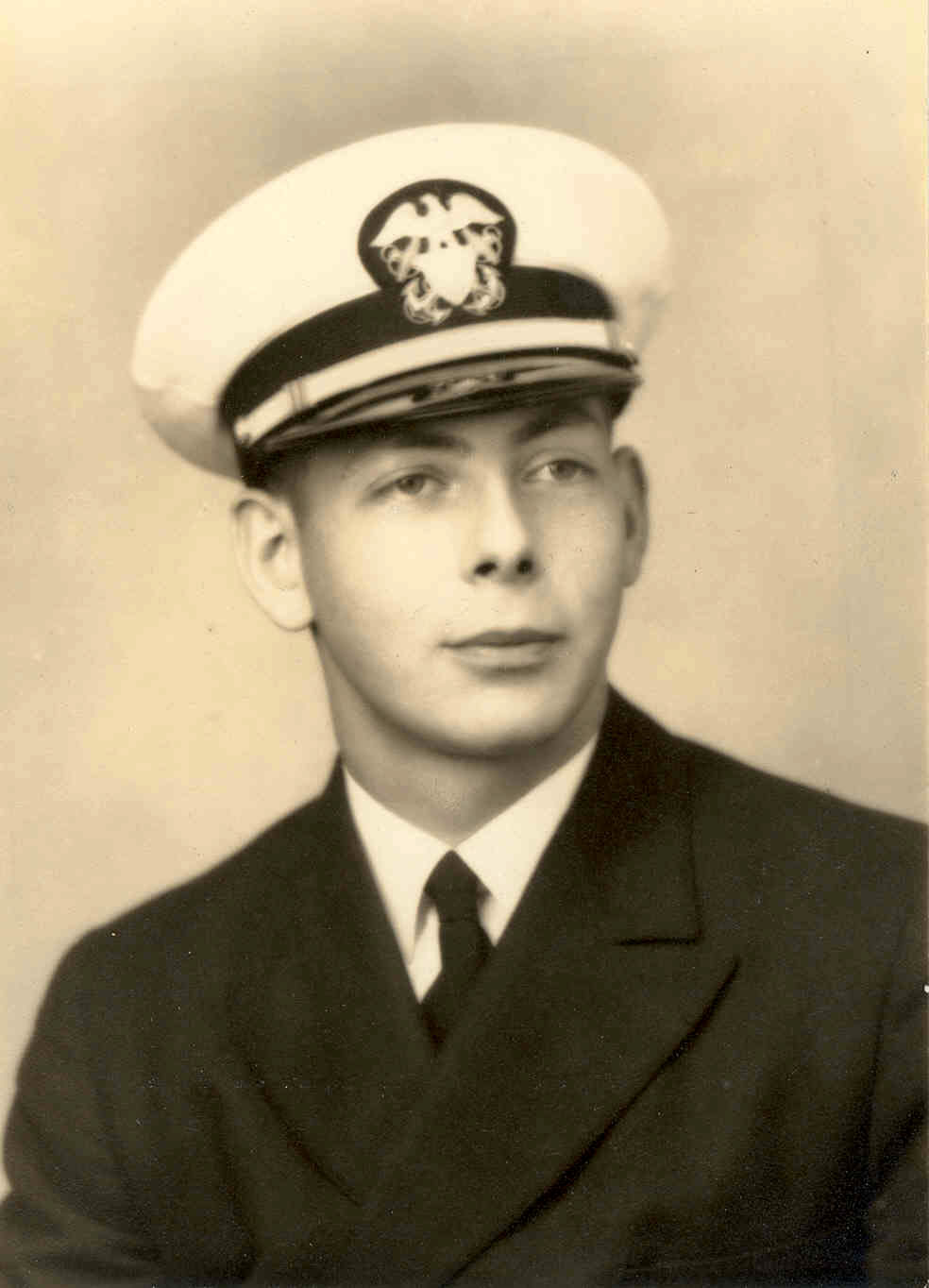 Following his graduation at Yale University in 1944, Edward attended the Annapolis Naval Academy.