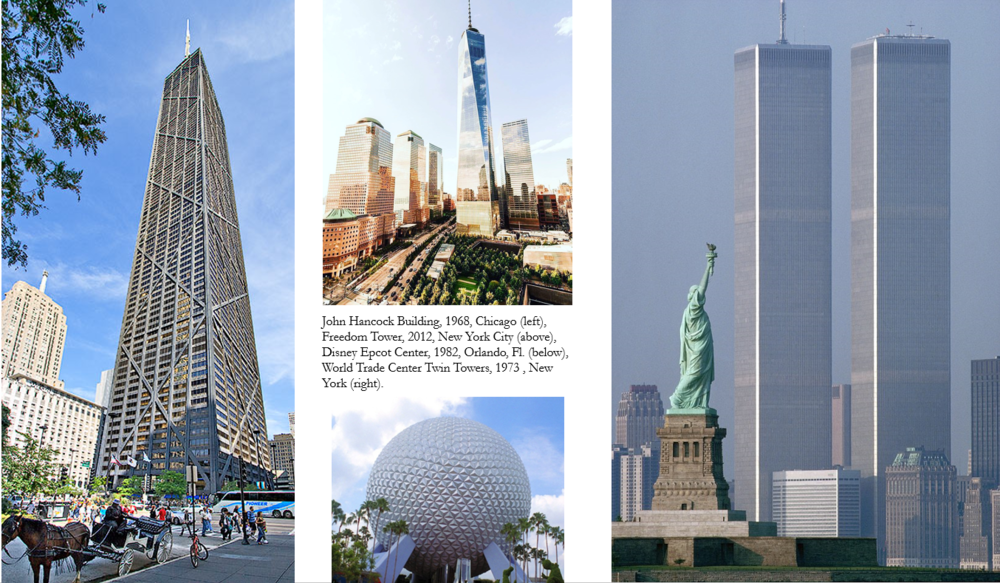 A few of the iconic buildings by Tishman Construction. I remember every detail Edward shared with me about these epic undertakings and I still recall his anguish as he watched his beloved Twin Towers crashing back to earth. It was poetic that New York City again turned to the Tishman family to erect the Freedom Tower.