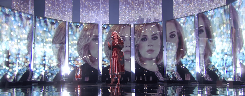 Adele - Brit Awards (Screen content direction w/ Es Devlin)