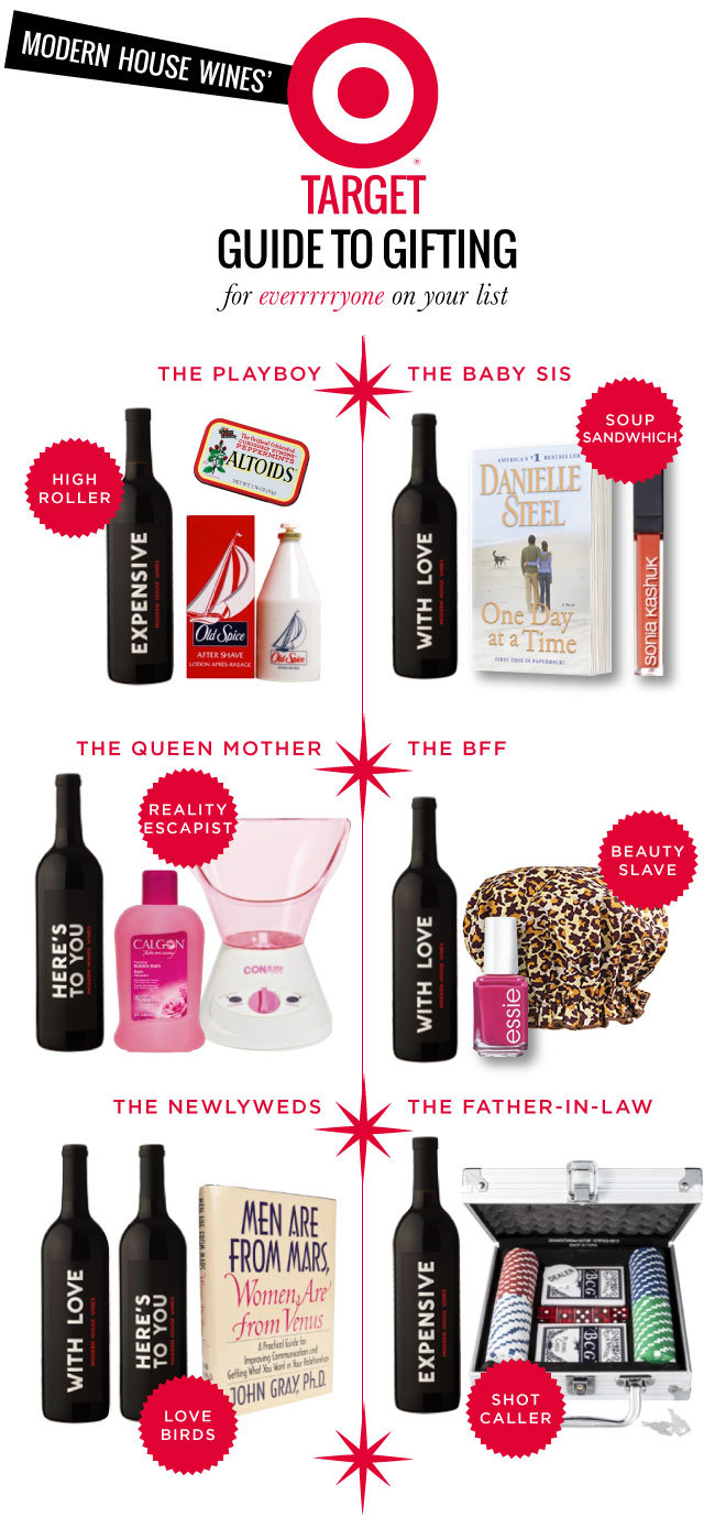 Modern House Wines Target Gift Guide Mrs Lilien