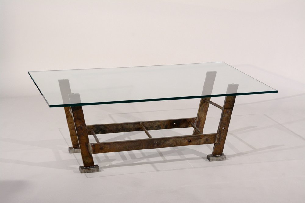 Industrial coffee table - La Scala
