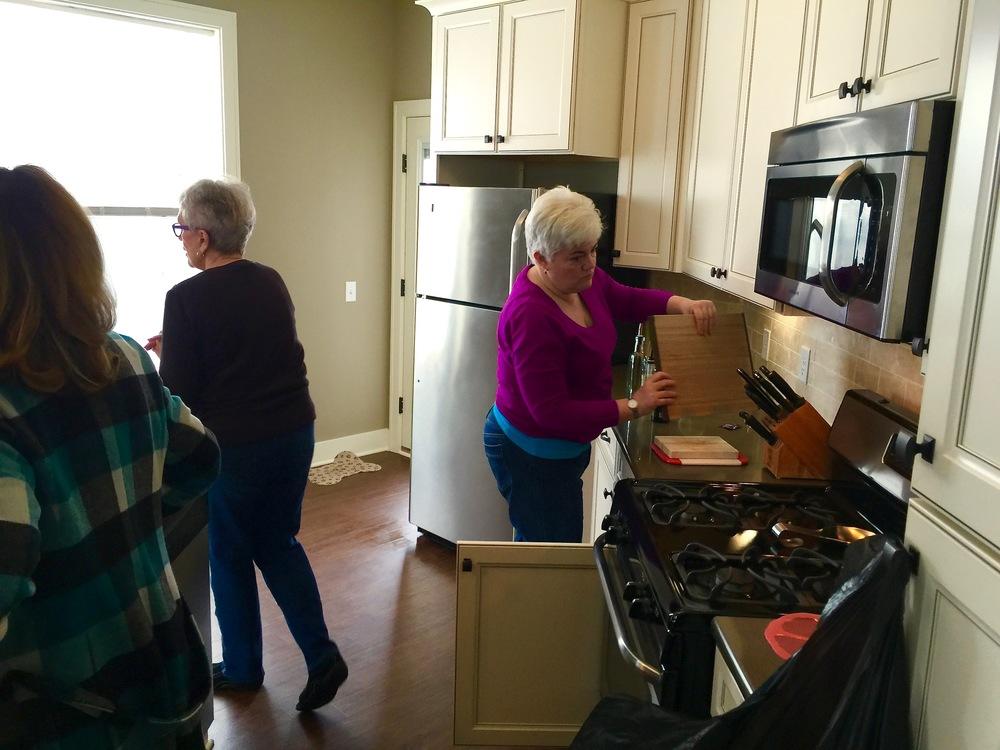 Kitchen in progres