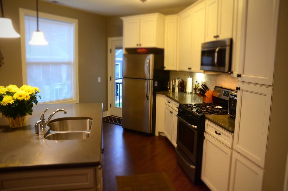 Kitchen, after