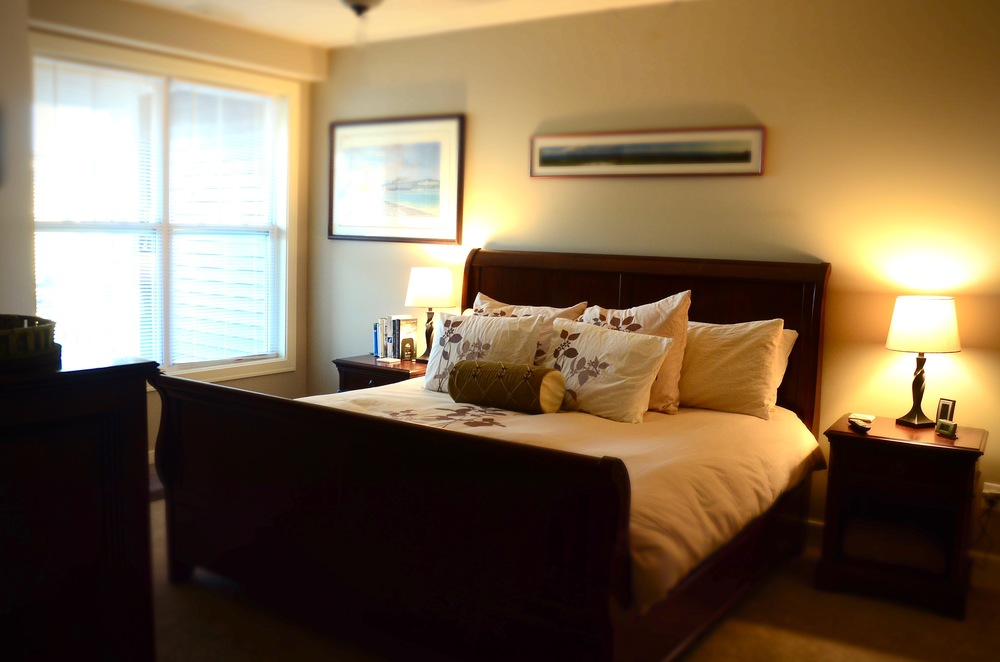 Master bedroom, complete
