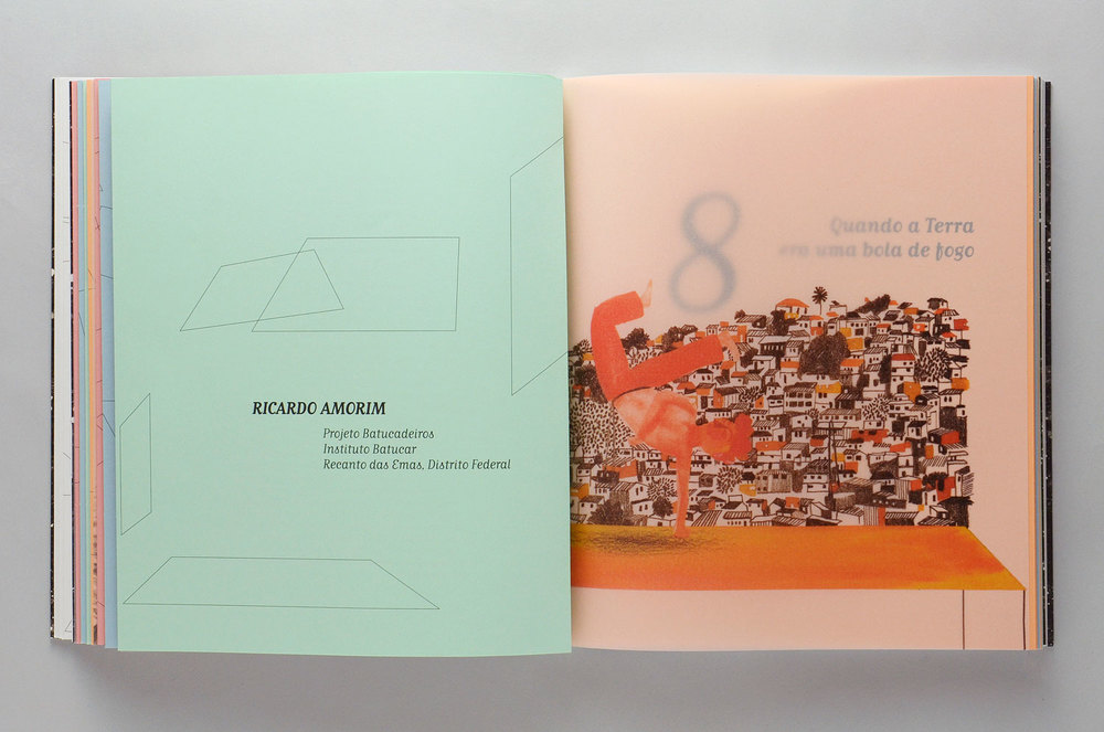 Livro Sentidos | Miolo (detalhe)
