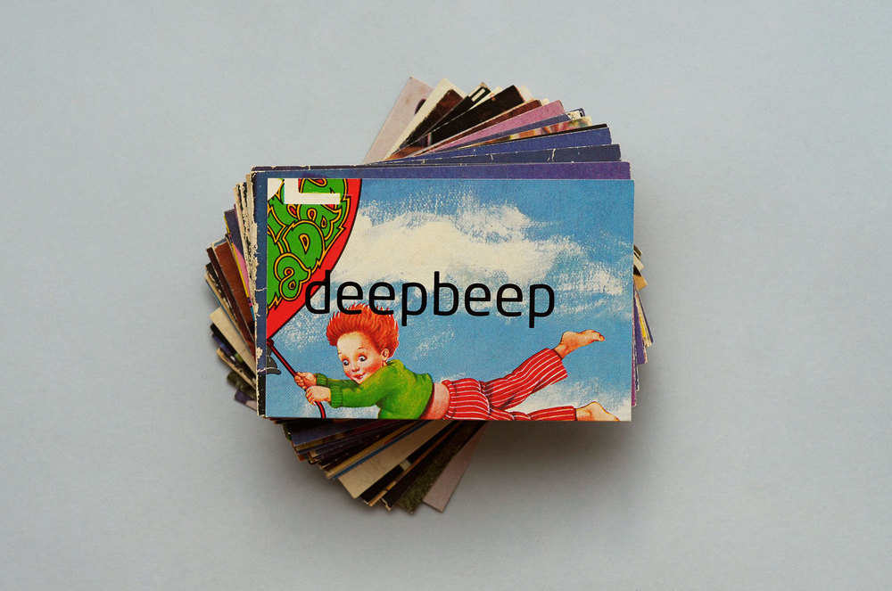 cartões de visita para site de música