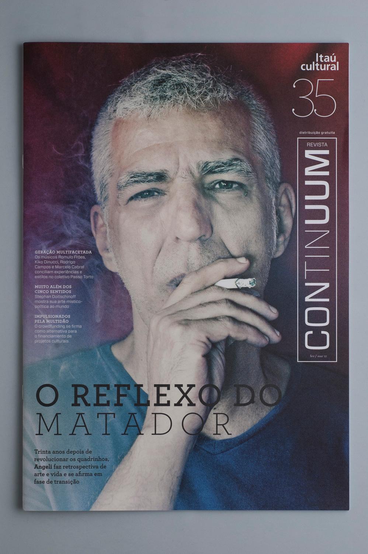 diagramação revista Continuum | Instituto Itaú Cultural