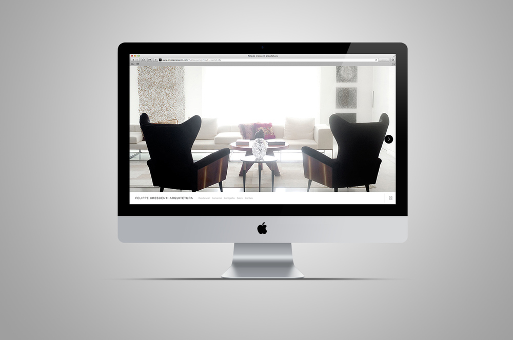 website felippe crescenti arquitetura