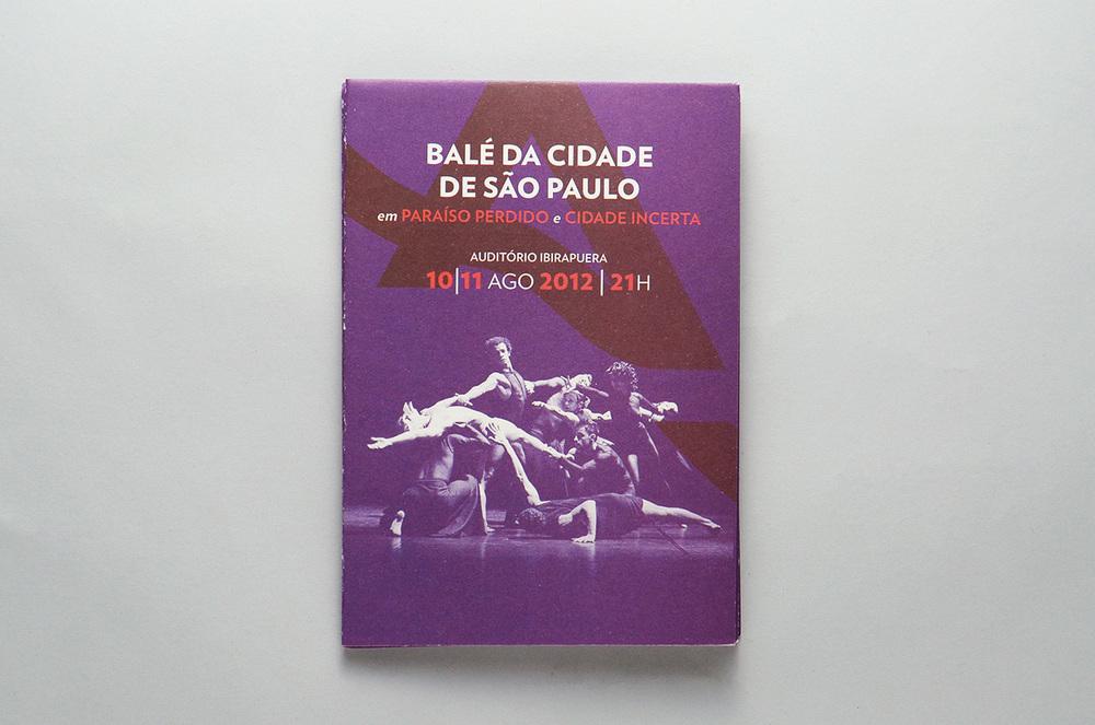 programa Balé da Cidade de São Paulo