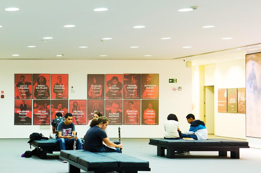 cartazes escola do auditório