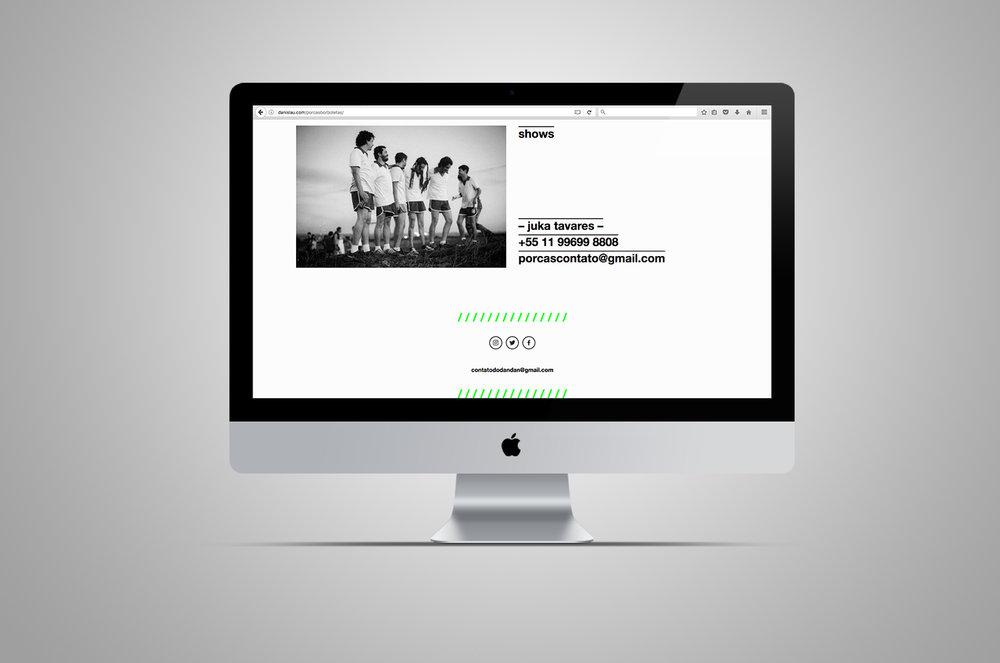 website | contato