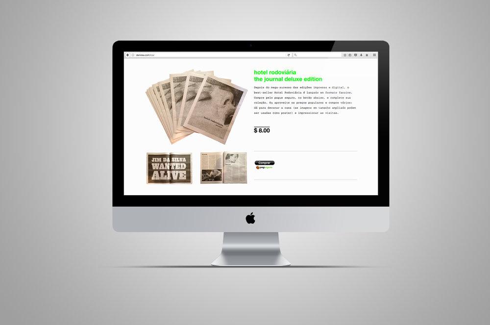 website | loja