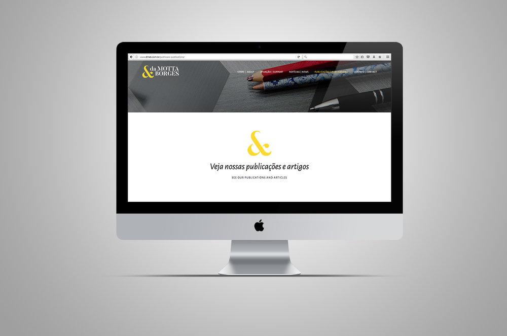 website | publicações