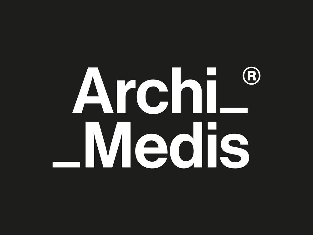 ARCHIMEDIS | LOGO ALTERNATIVO INVERTIDO