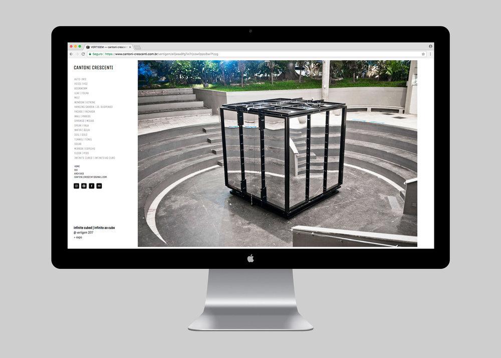 WEBSITE | INFINITO AO CUBO