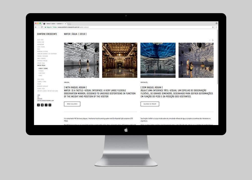 WEBSITE | ÁGUA