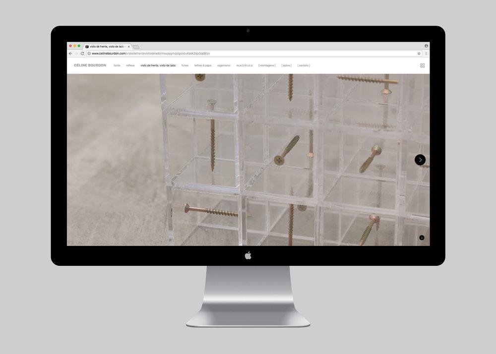 WEBSITE | VISTO DE FRENTE, VISTO DE LADO