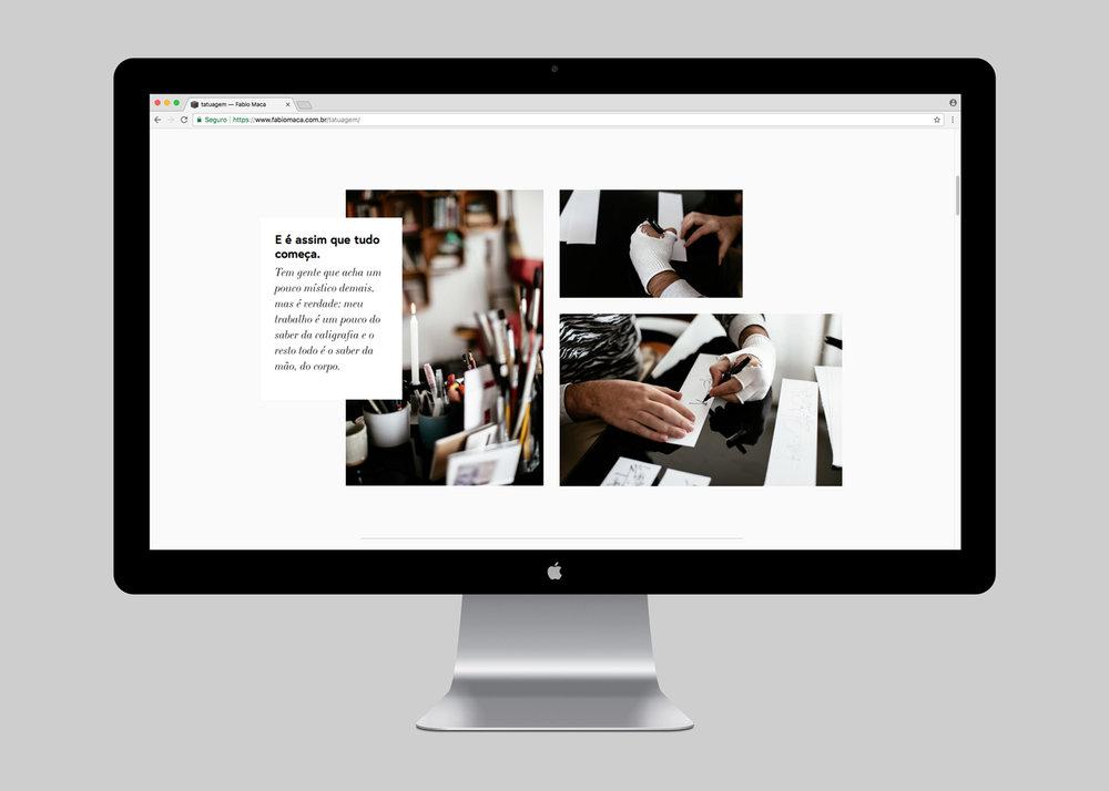 WEBISTE | TATUAGEM