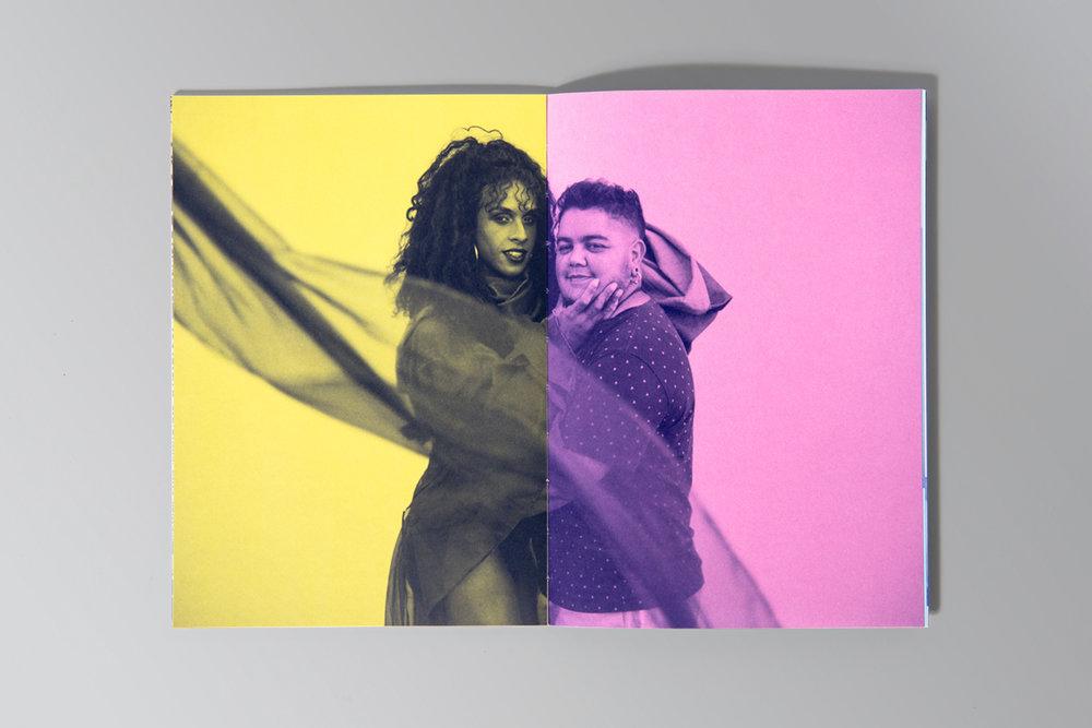 """projeto gráfico para catálogo da mostra de arte e diversidade """"Todos os Gêneros"""""""