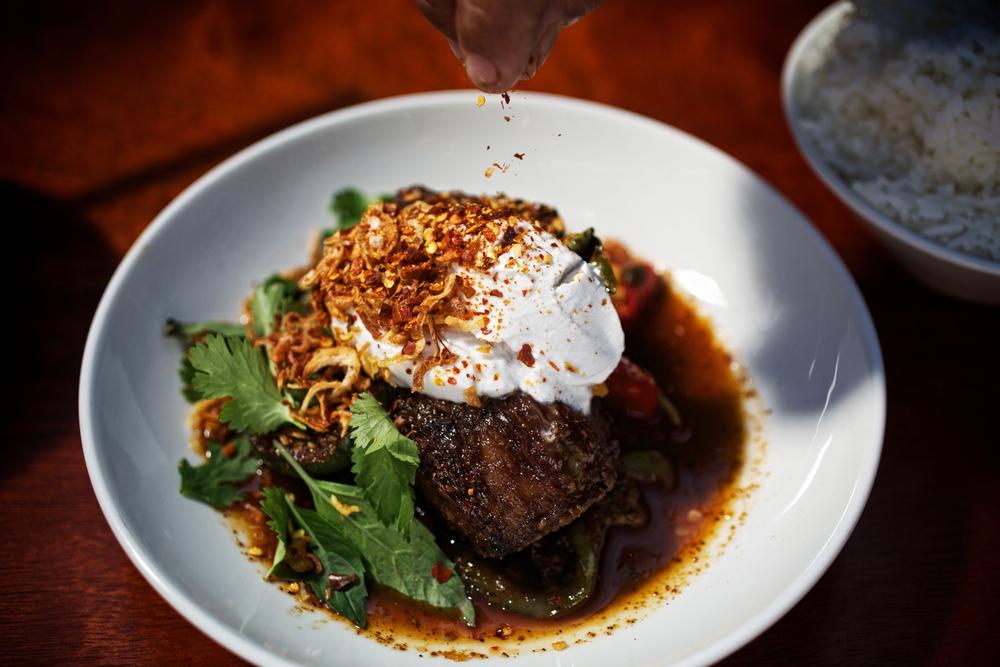 Thai Pepper Steak