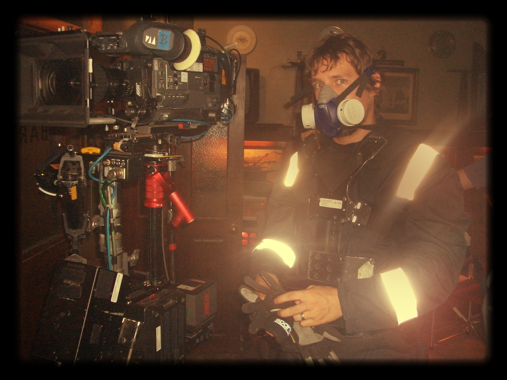 Shooting a drama fire scene - Richard Cornelius - Steadicam Operator