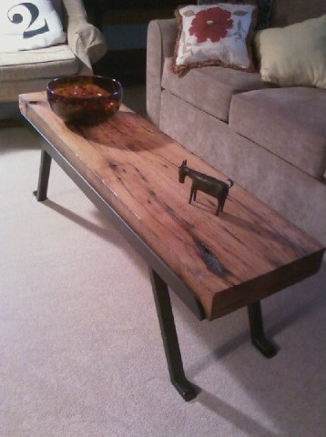 Coffe Table in Reclaimed Oak