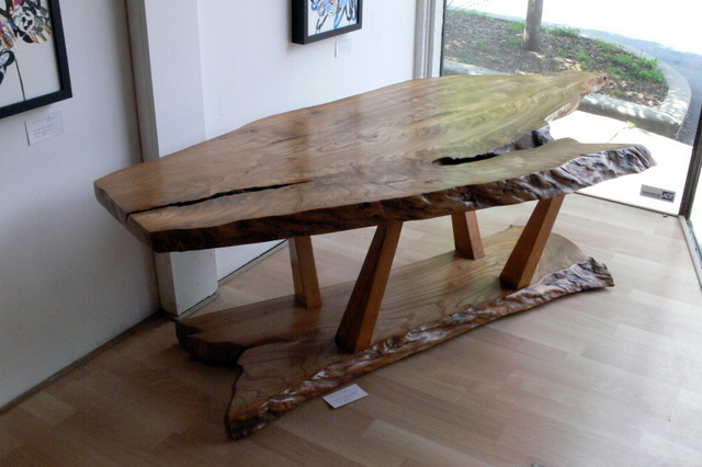 Live Edge Table in American Elm