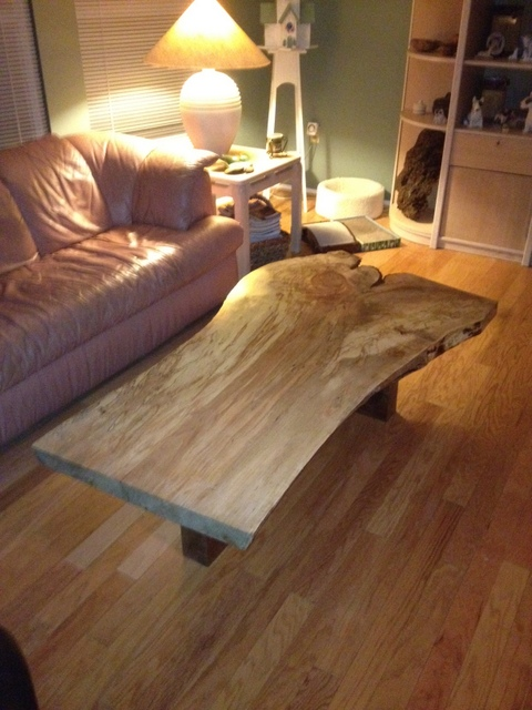 Coffee Table In Ambrosia Maple