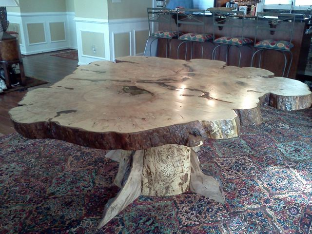 Rustic Table in Maple