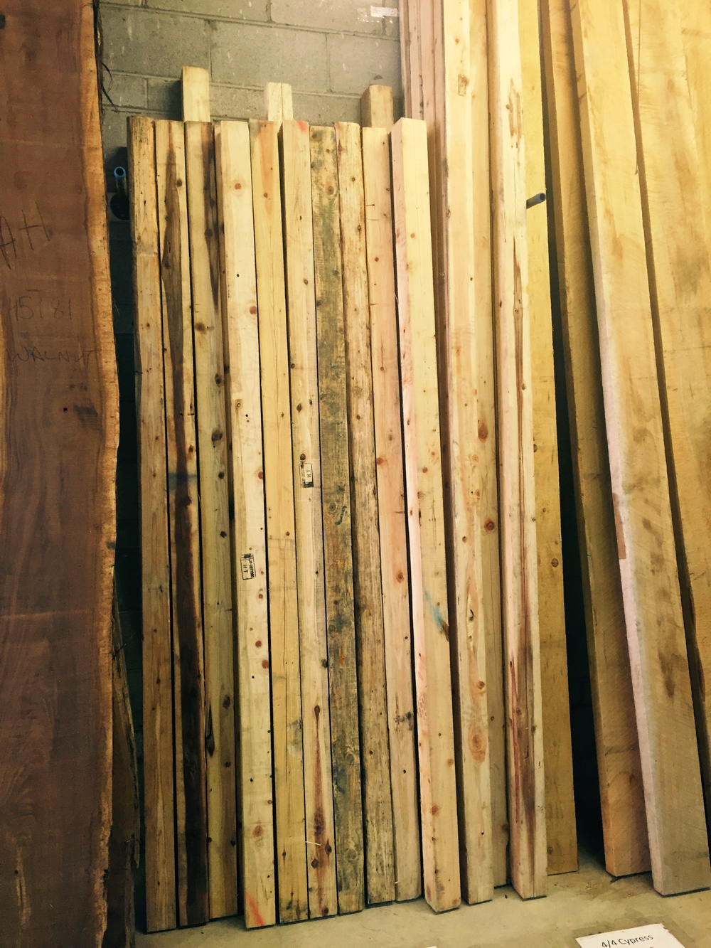 "Reclaimed Cedar Posts:  3"" x 3"" x 8'-- $12   3"" x 3"" x  10' -- $15  That's Less Than  $2.00 / BF"