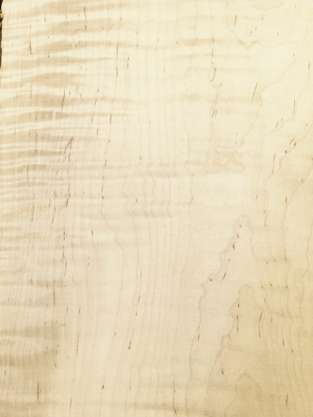 4/4 Curly Maple $5.95 / BF