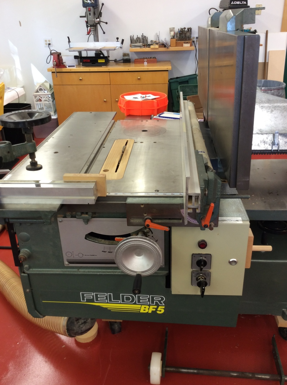 Used Felder Combination Machine Sold Asheville Hardware