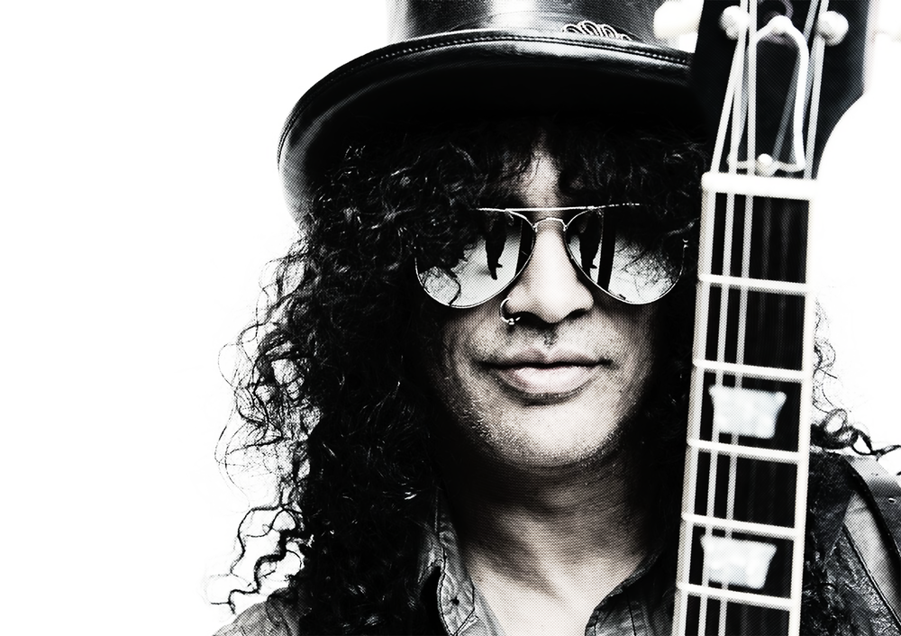 "Five  Guns N' Roses  interviews – two with Slash, three with Ron ""Bumblefoot"" Thal"