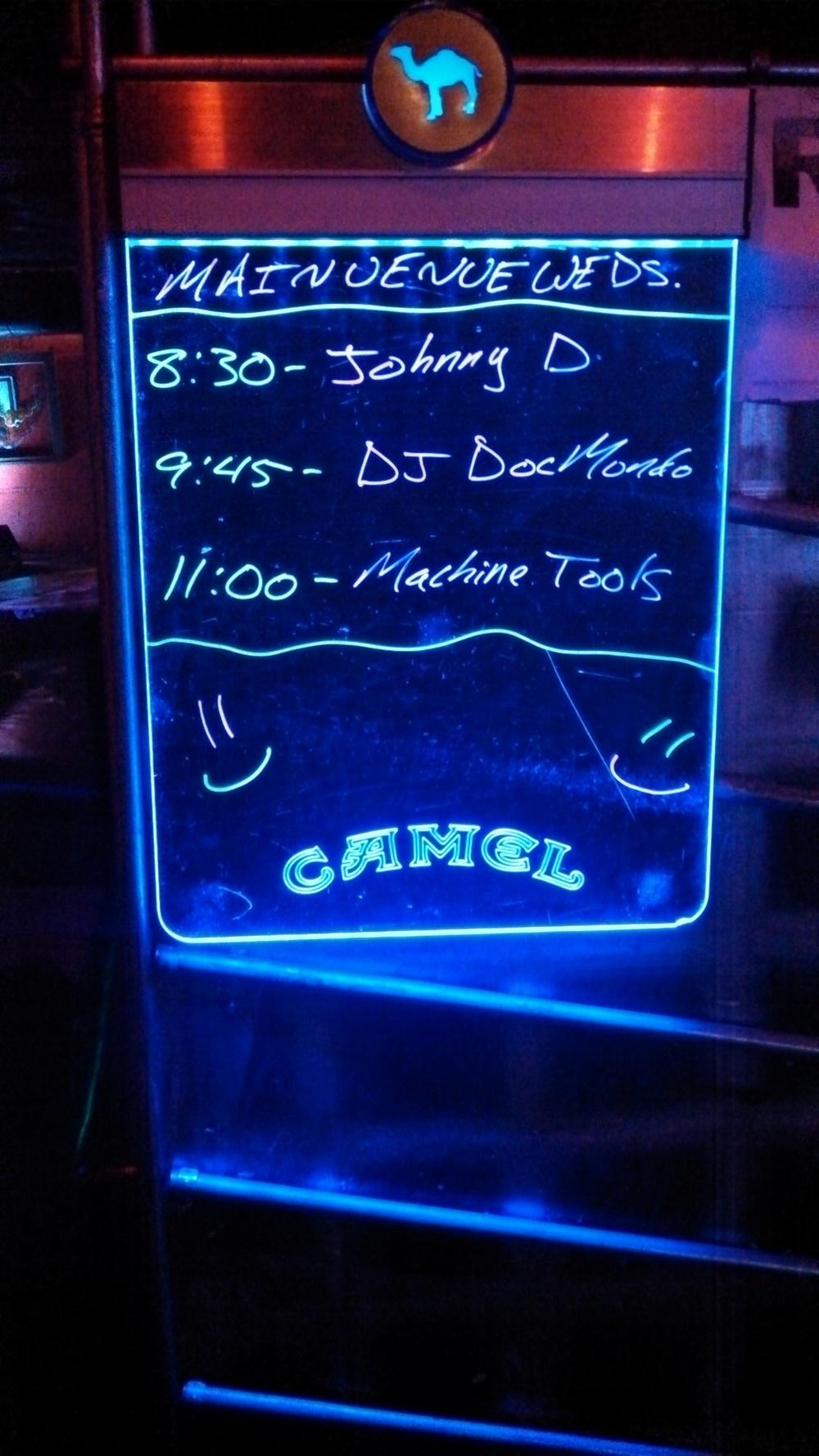 Neon Show List