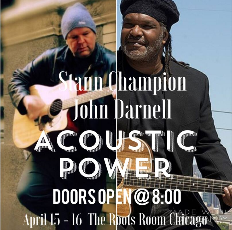 9 Time CMA Award Winner Stann Champion and John Darnell Share the Stage in Chicago.