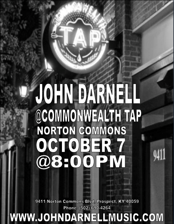 Johnny D fills the house @ Commonwealth Tap in Norton Commons