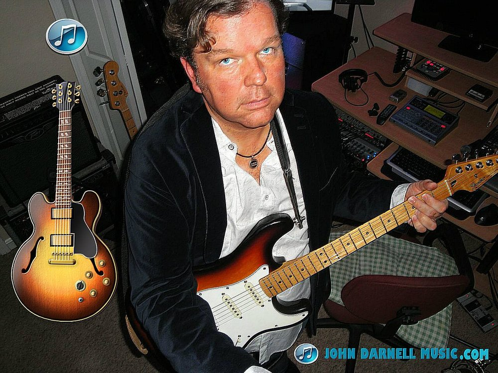 Johnny D cuts fresh tracks in the Studio for the new Release!