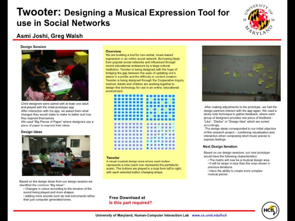 Interaction Design and Children 2011