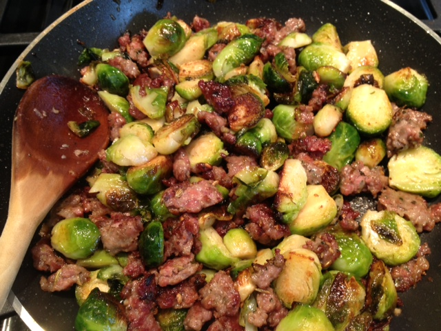 Sprouts and Sausage