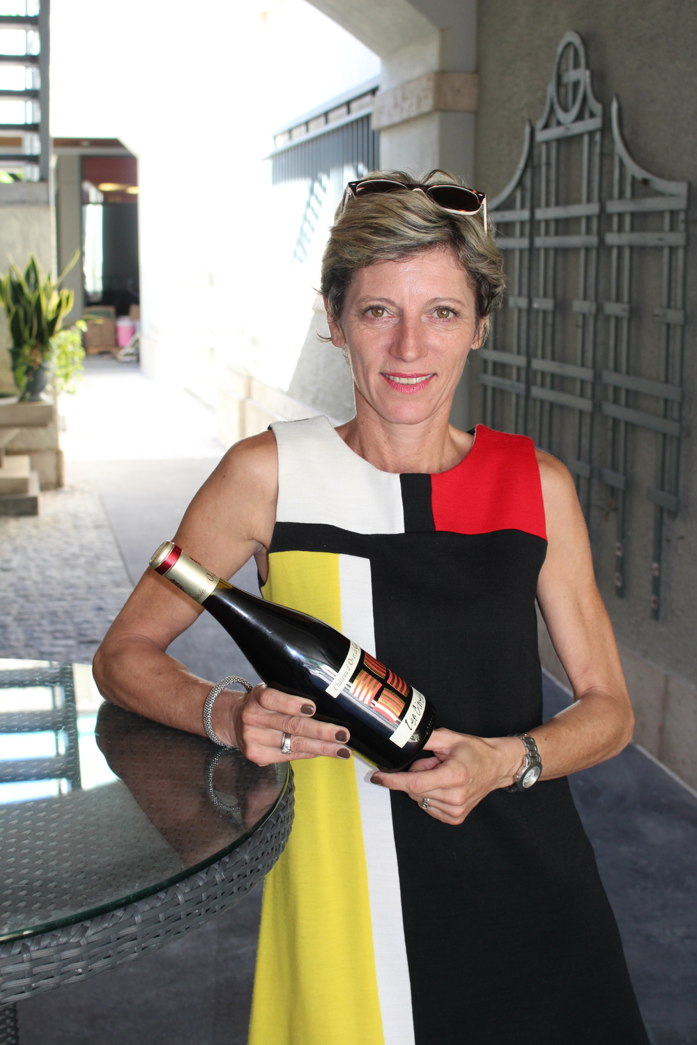 Diane de Putymorin brought her flagship wine to Naples