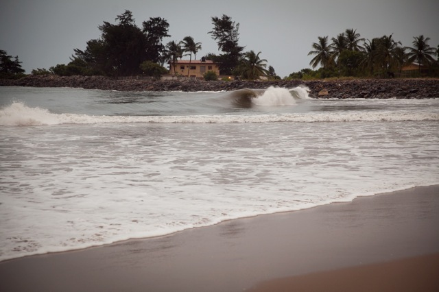 Nice little wave at Tarkwa Bay
