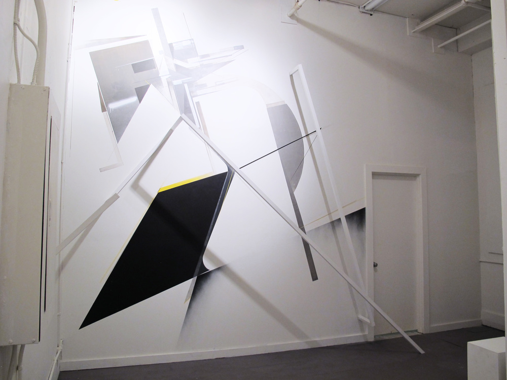Installation with   Augustine Kofie   and   Christopher Derek Bruno   at  Breeze Block Gallery , 2013
